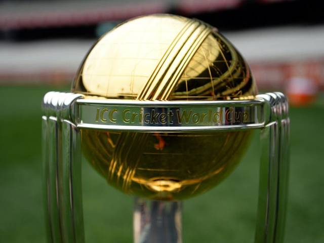 Touring all the participating countries prior to beginning of matches, the international cricket council (icc)