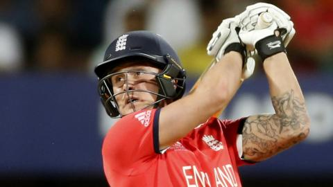 Jason Roy's 78, off 44-ball proves crucial as England beat New Zealand by seven wickets to advance to the World Twenty20 final.