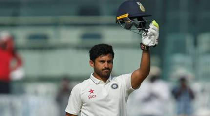 Nair has now become only the second Indian to score a triple ton after opener Sehwag, who has two triple tons to his name.