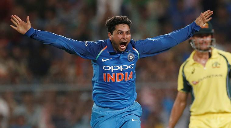Kuldeep hat-trick and Bhuvneshwar floors Australia
