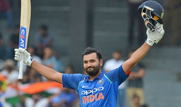 Rohit Sharma scores 14th ODI hundred and first in the series.