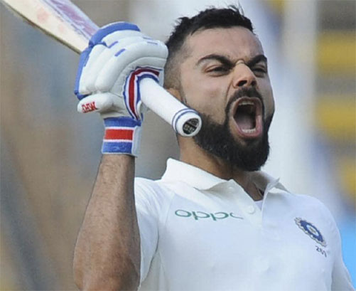 Kohli clean sweep of three major ICC awards