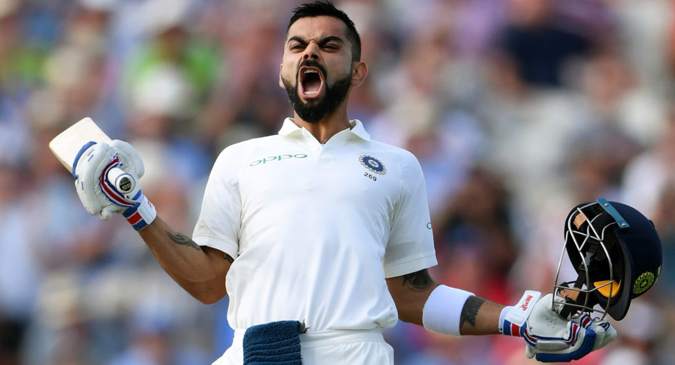 Kohli named among Wisden Cricketers of the Year