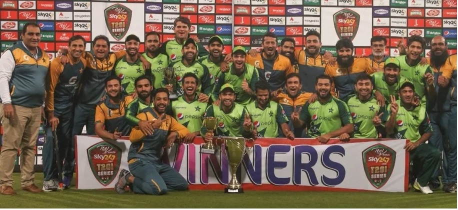 Pakistan seal T20I series by 2-1
